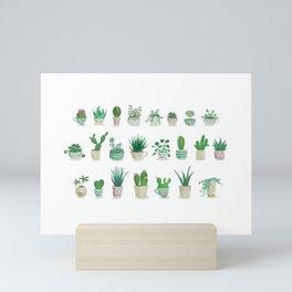 Tiny garden Mini Art Print