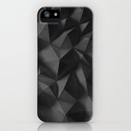 black rocks landscape iPhone Case