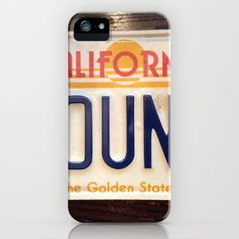 4 sounds California iPhone Case