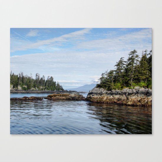 Sitka Islands Canvas Print