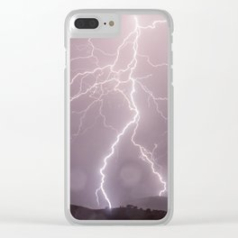 lightning Clear iPhone Case