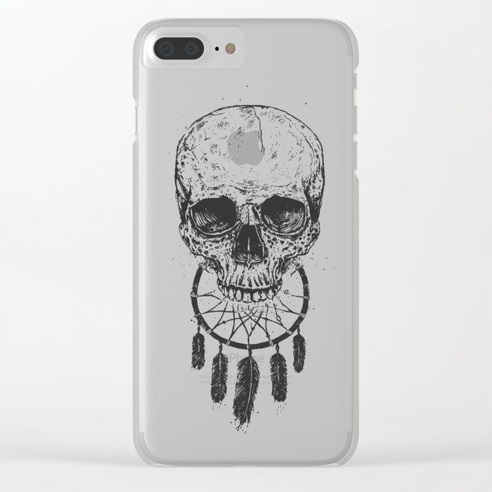 Dream forever Clear iPhone Case