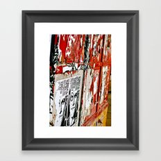 Crumbling Away Framed Art Print