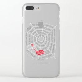 TEH INTERWEBS Clear iPhone Case