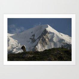 Karakorum Ridge Art Print