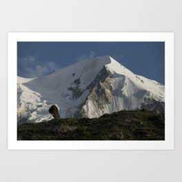Karakorum Ridge Art Print