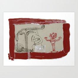 Open Channel Art Print