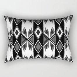 B&W Ikat #society6 #ikat Rectangular Pillow