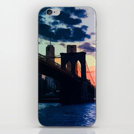Sunsets of New York iPhone Skin