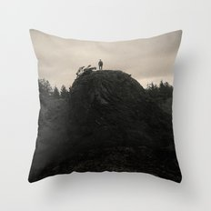 Up In the Woods, Down in My Mind Throw Pillow