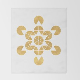STAR TETRAHEDRON MERKABA sacred geometry Throw Blanket