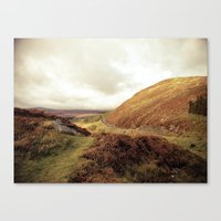 ruben ireland Canvas Prints featuring Ireland. by Ashley Jensen