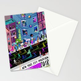 New York City Marathon 2018 Stationery Cards