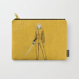 The Bride without a face (Kill Bill) Carry-All Pouch