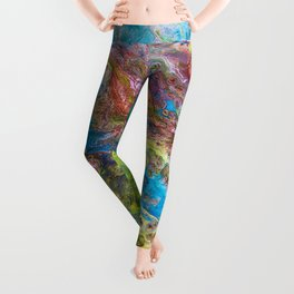 Calipso - Modern Abstract Leggings