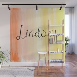 Lindsey - Orange Yellow Ombre Wall Mural