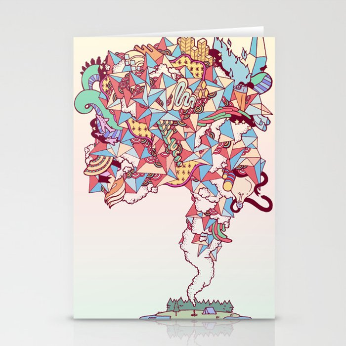 Thick Lucidity Stationery Cards