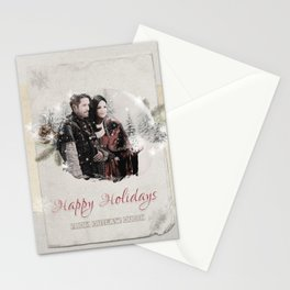 OUAT HAPPY HOLIDAYS // OUTLAW QUEEN Stationery Cards