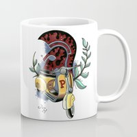 vespa Mugs featuring Vespa by Mirek Kopinec