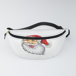 Ask Your Mom If I'm Real Ugly XMAS product For Bad Moms print Fanny Pack