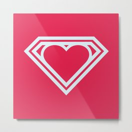 Superlove Metal Print