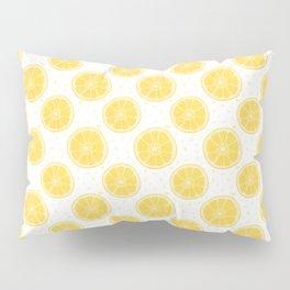 Lemons and Seeds Pattern Pillow Sham