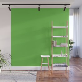 Green Solid Color Wall Mural