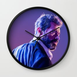logan howlett Wall Clock