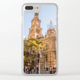 Sydney Town Hall Clear iPhone Case