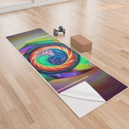 Abstract in perfection 121 Yoga Towel