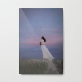 Romantic Sunset Metal Print