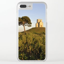Old Church and Tree, Croatia Clear iPhone Case