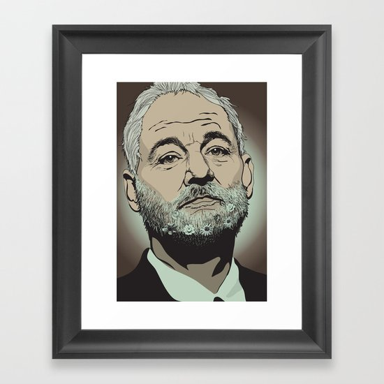 Bill Murray  Framed Art Print
