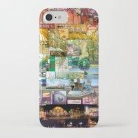 cincinnati iPhone & iPod Cases featuring Cincinnati Spectrum by Stacey Cat