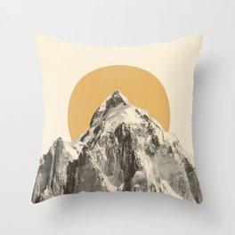 Mountainscape 5 Throw Pillow
