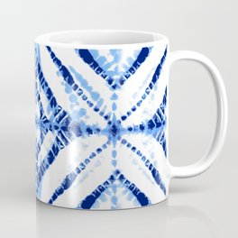 TIE-DYE in BLUE Coffee Mug