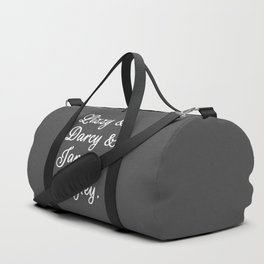 The Pride and Prejudice Couples II Duffle Bag