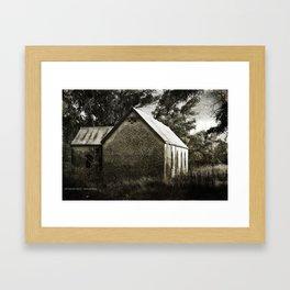 Old Dripstone Church Framed Art Print