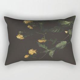 Yellow Night Rectangular Pillow