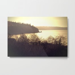 Washington State beach Metal Print