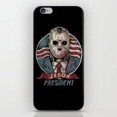 Jason For President iPhone & iPod Skin