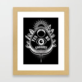 Call Me On the Ouija Board Framed Art Print