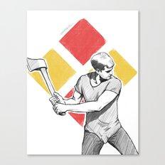 Resistance Canvas Print