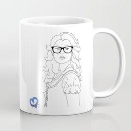 Hipster Belle Coffee Mug