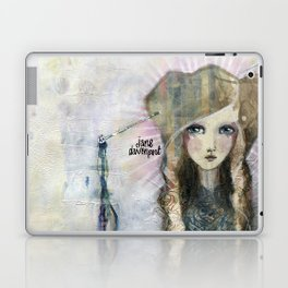 Gesso Geisha by Jane Davenport Laptop & iPad Skin