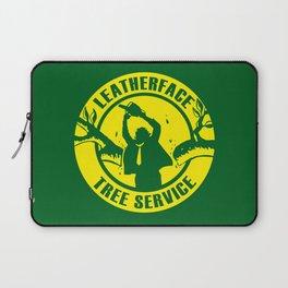 Leatherface Tree Service Laptop Sleeve