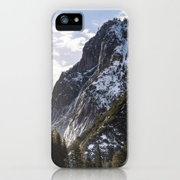 First Mountain Light iPhone Case