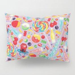 Candy Pattern - Purple Pillow Sham