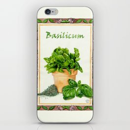 BASILICUM iPhone Skin