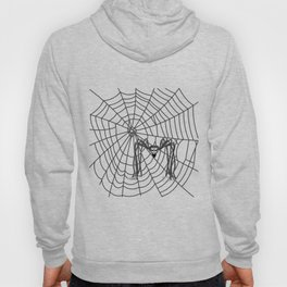 web with spider, spideypool, hegre prints illustration is inspired ... Home Decor Graphicdesign Hoody
